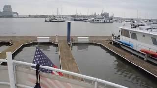 Stern docking, Anchorage Marina