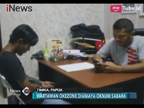 Lagi!! Seorang Oknum Polisi Jemput Wartawan Okezone untuk Dianiaya - iNews Pagi 12/11
