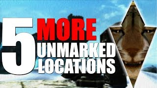 5 MORE Unmarked Locations in Skyrim