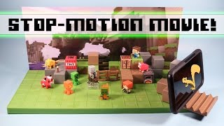 Minecraft Mini-Figures Stop Motion Movie Creator Playset Review