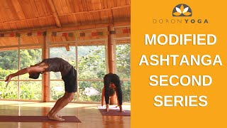 Modified Ashtanga Second Series For Everyone | 75 min Ashtanga Intermediate Led Yoga Class