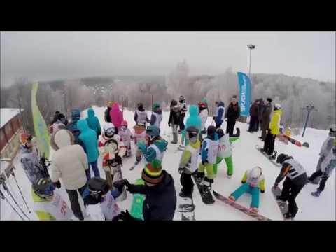 Видео: Видео горнолыжного курорта Изгиб в Ярославская область