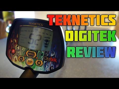 Metal Detecting:  Teknetics Digitek - Unboxing, Review, and Testing