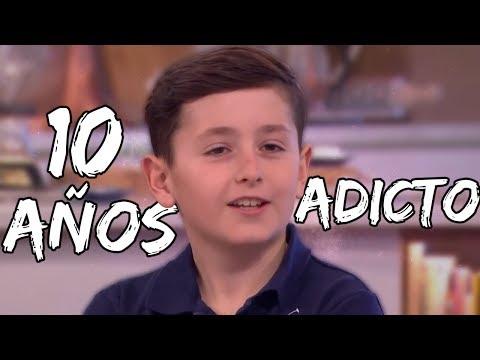 El niño adicto al Fortnite