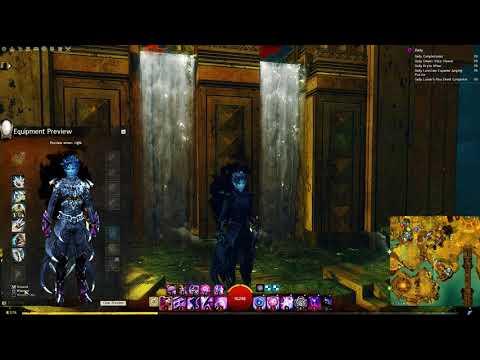 Guild wars 2 Requiem light armor for human - смотреть онлайн