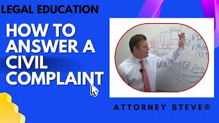 How to Answer a Civil Complaint
