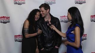 Joseph Morgan, Persia White Interview- FirstGlance Philly 21