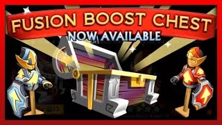 """Knights and Dragons - """"CHEST OPENING"""" 11 Fusion Boost Chests! NEW Fusion Boosts Chests!"""