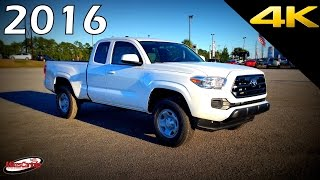 2016 Toyota Tacoma SR - Ultimate In-Depth Look in 4K