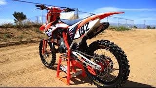 2015 KTM 250 SX 2 stroke project bike- Motocross Action 2 Stroke builds