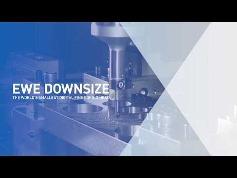 EWE Downsize - the world's smallest digital fine boring head
