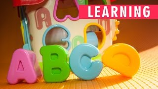 Learning ABC with Learning Home | Activity Home Playset | Infant & Toddler | Kids Channel