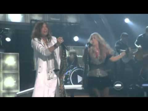 Carrie Underwood and Steven Tyler ROCK IT LIVE - Undo it / Walk This Way - FULL version