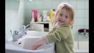 Le lavage des mains enfants