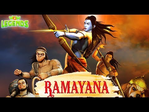 Ramayana: The Epic   Christmas Special Movie   Hindi Animated Movies For Kids   Wow Legends