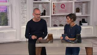 FLY London Leather Lace-up Ankle Boots - Leal On QVC
