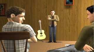 """Stephen Lynch's """"A History Lesson"""" with the The Sims 2"""