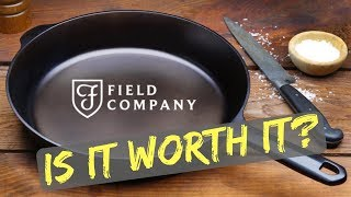 Field Company Cast Iron Skillet Follow Up Review