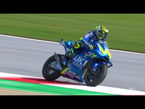 2018 Austrian GP - Suzuki in action
