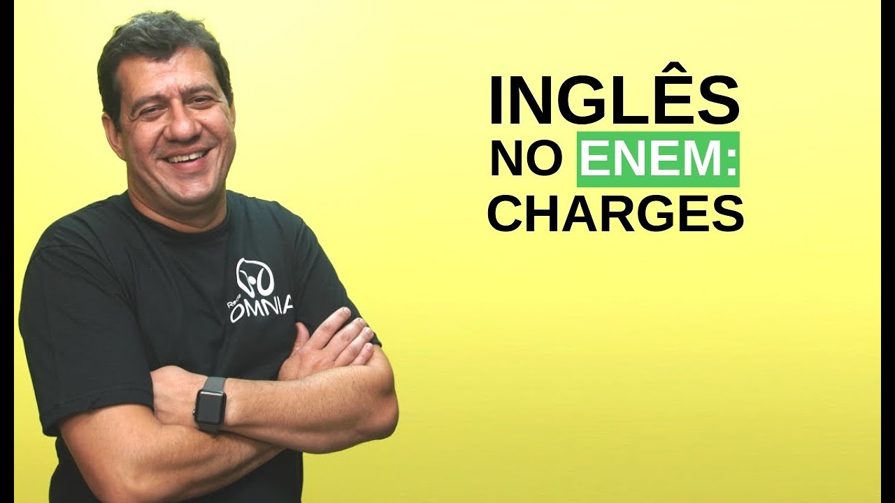 Inglês no Enem: Charges