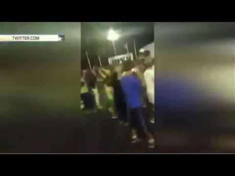 Грузовик едет сквозь толпу в Ницце: кадры теракта 14.07.2016