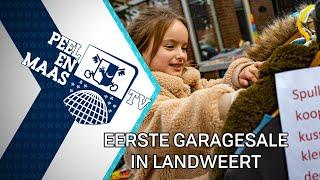 Eerste garagesale in Landweert - 18 oktober 2021 - Peel en Maas TV Venray