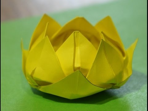 Step by step origami for beginners water lily lotus flower naijafy similar videos step by step origami for beginners water lily lotus flower play mightylinksfo