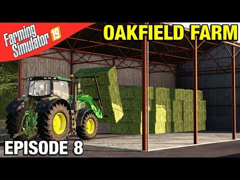 Farming Simulator 19 Mods 32 Bales One Stack - смотреть онлайн на
