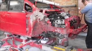 Honda Fit. Body repair. Ремонт кузова.