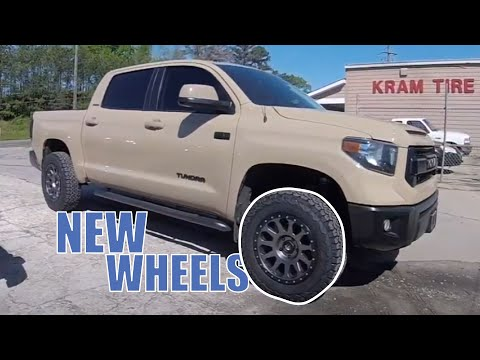 Toyota Tundra Wheel and Tire Install and Alignment