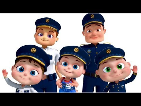 Police Finger Family And More | Nursery Rhymes & Kids Songs | Finger Family Collection Mp3