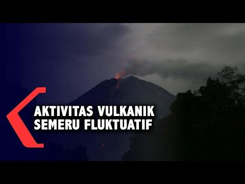 Aktivitas Vulkanik Gunung Semeru Fluktuatif, Warga Diminta Tetap Waspada