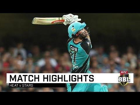 Heat annihilate Stars as sixes rain | KFC BBL|08 - cricket
