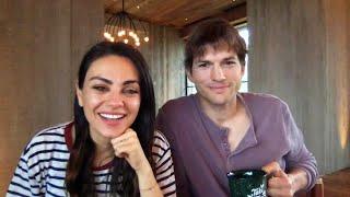 Mila Kunis and Ashton Kutcher funny interview