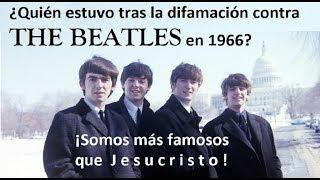 Quien estuvo tras la difamación contra The Beatles en 1966