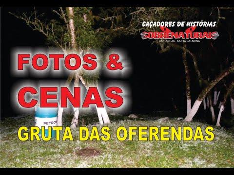 FOTOS E CENAS - A GRUTA DAS OFERENDAS