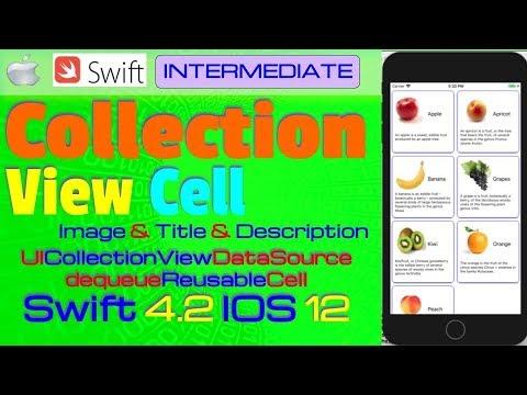 IOS 12, Swift 4, Tutorial : How To Create Dynamic Custom