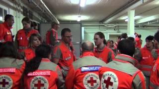 preview picture of video 'Reims à Toutes Jambes, le marathon des secouristes - Croix Rouge française de la Marne'