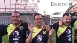 Contragolpe - Super Clasico América vs Chivas leyendas y celebridades tanda de penales