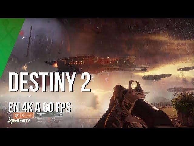 Jugando en 4K y 60fps a Destiny 2, sólo posible en PC