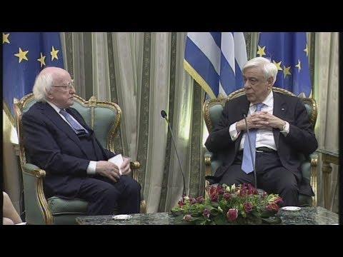 Συνάντηση του Πρ. Παυλόπουλου με τον Ιρλανδό ομόλογό