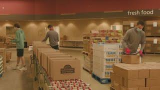 Nonprofits providing food see exploding demand amid pandemic