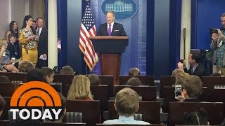 Kids Grill Sean Spicer On Take Our Daughters And Sons To Work Day | TODAY