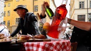 Testar Stockholms sämsta restaurang (och tjuvjakt!)