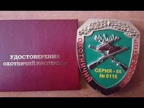 Государственный охотинспектор. (Его права и полномочия).