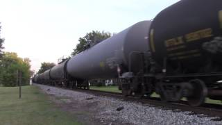 Allegheny Valley Railroad Northbound through Callery, PA June 28th 2017.