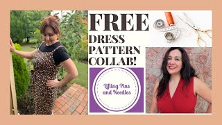 Heidi Day Dress Collab With Karina From Lifting Pins And Needles #freesewingpatterns #dahliasewciety