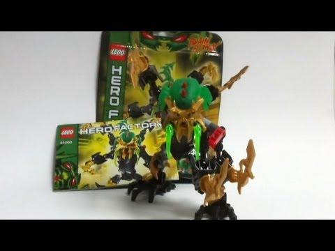 Vidéo LEGO Hero Factory 44003 : Scarox