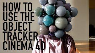 OBJECT TRACKER CINEMA 4D TIPS