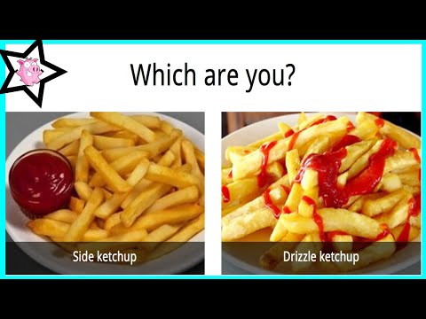 There Are Two Types Of People In The World (Food)